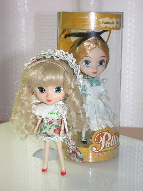 berry と Alice (blue)